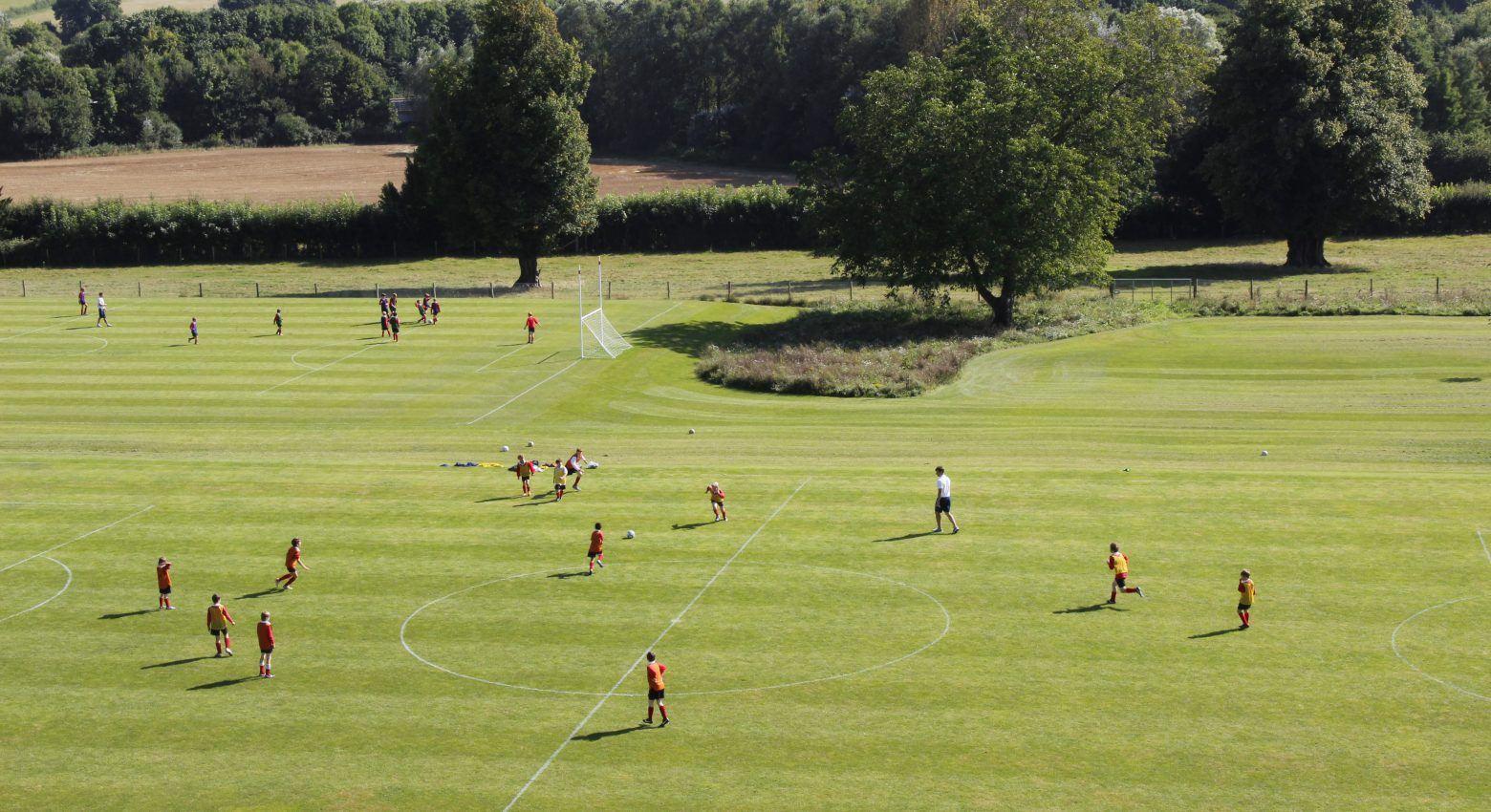 Football practise
